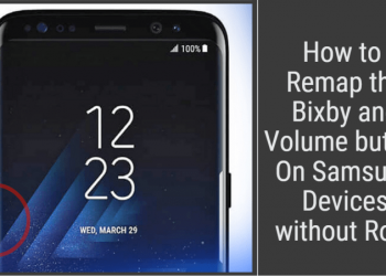 Remap the Bixby button On Samsung
