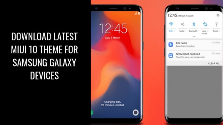 Download Latest MIUI 10 Theme For Samsung Galaxy Devices. Follow the post to get MIUI 10 Theme for Galaxy Devices