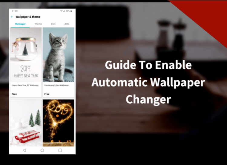 Enable Automatic Wallpaper Changer