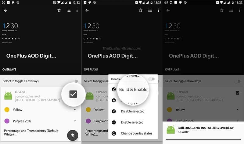 Customize Always-on Display On OnePlus