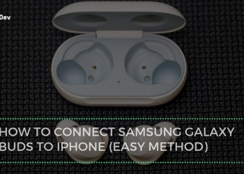 How To Connect Samsung Galaxy Buds To iPhone (Easy Method)