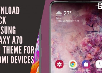 Download Stock Samsung Galaxy A70 MIUI Theme For Xiaomi Devices