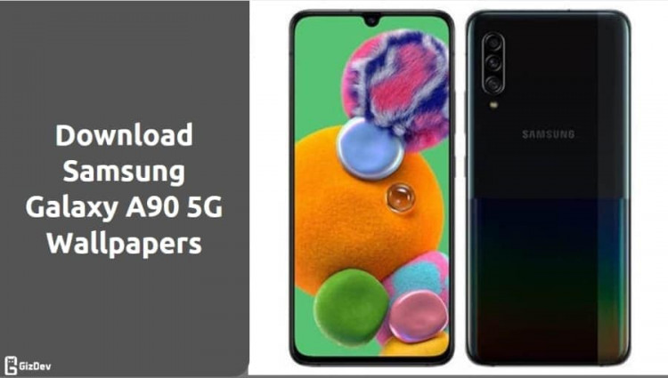 Samsung Galaxy A90 5G Stock Wallpapers