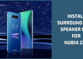 Surround Dual Speaker Mod For Nubia Z20