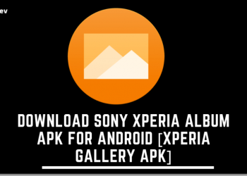 Download Sony Xperia Album APK For Android [Xperia Gallery APK]