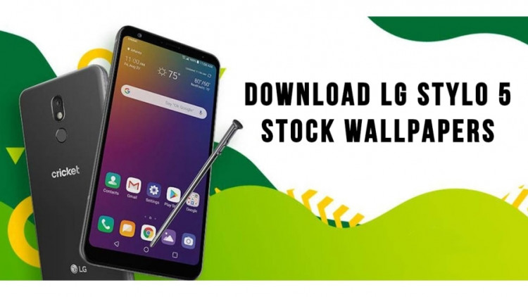 LG Stylo 5 Stock Wallpapers