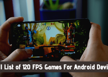 120 FPS Games For Android
