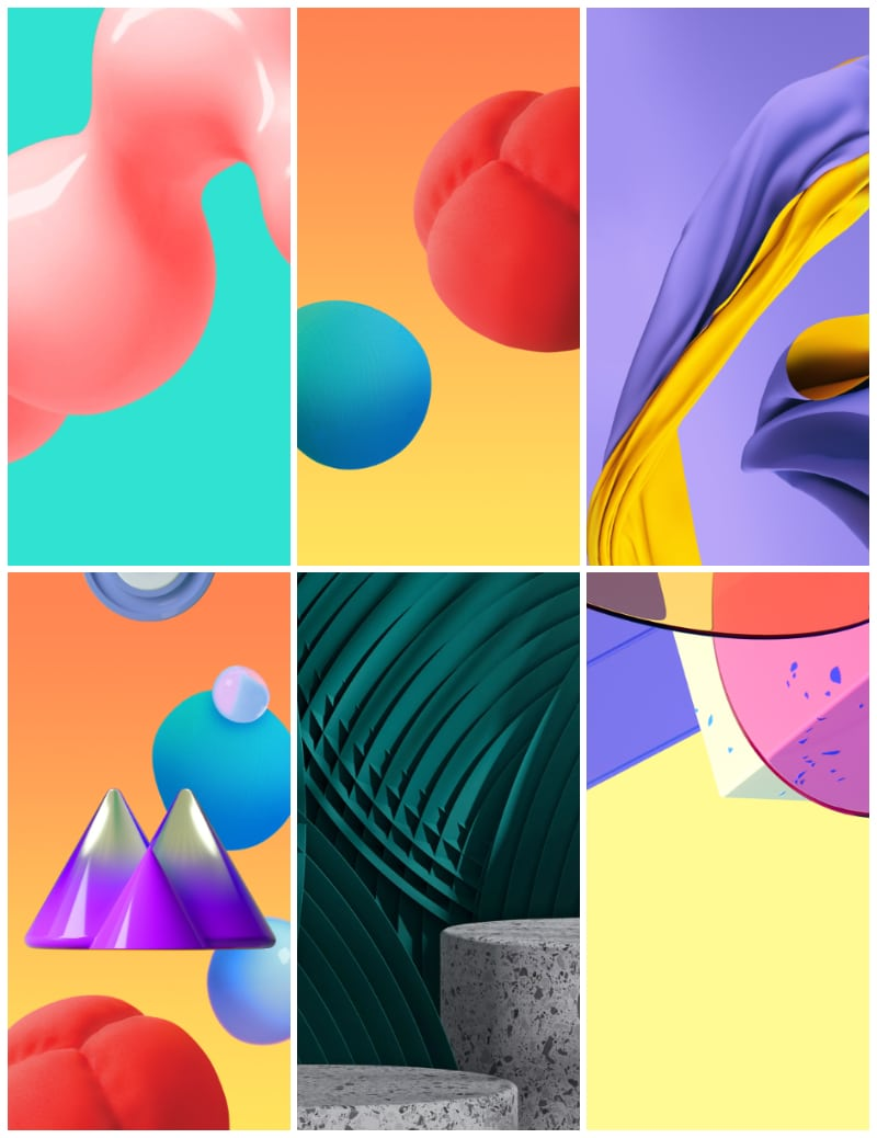 Samsung Galaxy M01s Wallpapers