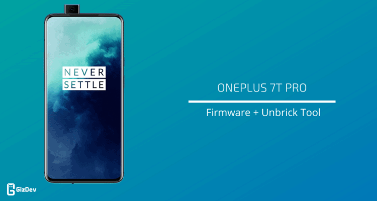 Unbrick OnePlus 7T Pro with firmware
