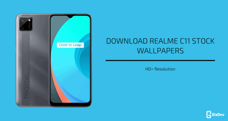 Realme C11 Stock Wallpapers