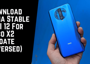 Download India Stable MIUI 12 For Poco X2 (Update Reversed)
