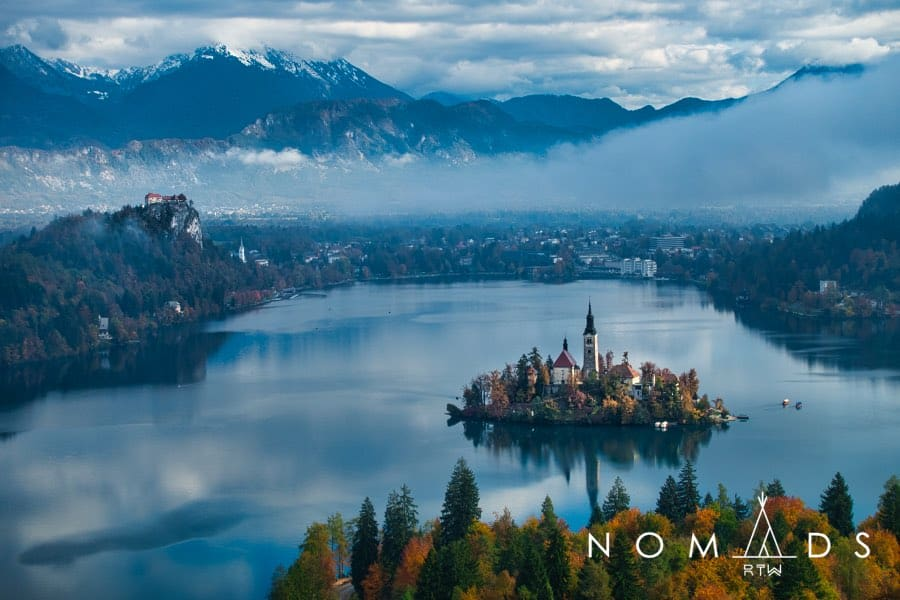 Bled in Slovenia - untouched cities