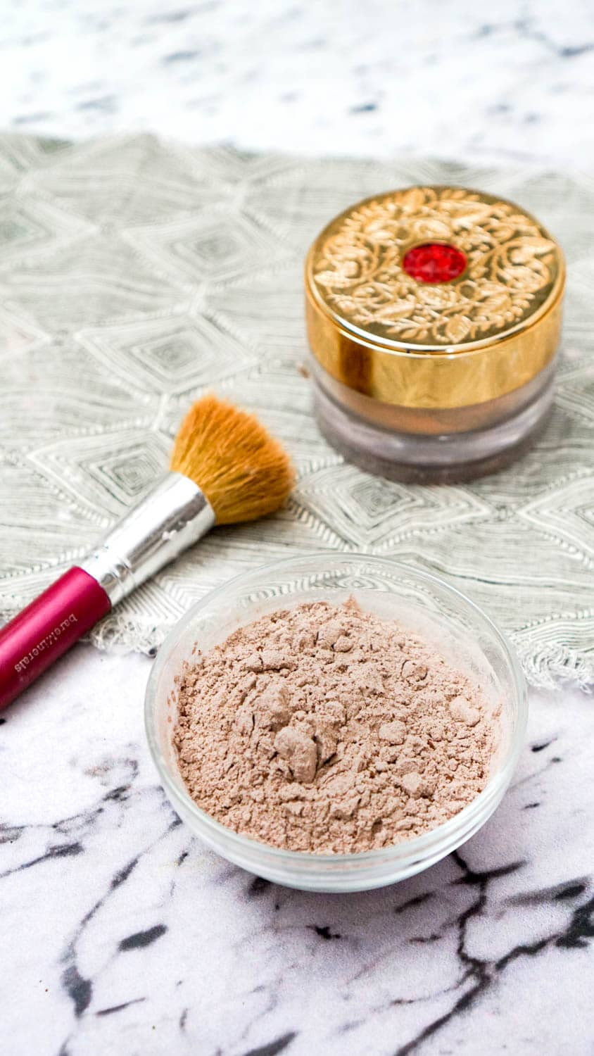Diy Zero Waste Powder Foundation Going Zero Waste