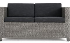 Furst Outdoor Loveseats with Cushions