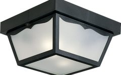Outdoor Close to Ceiling Lights