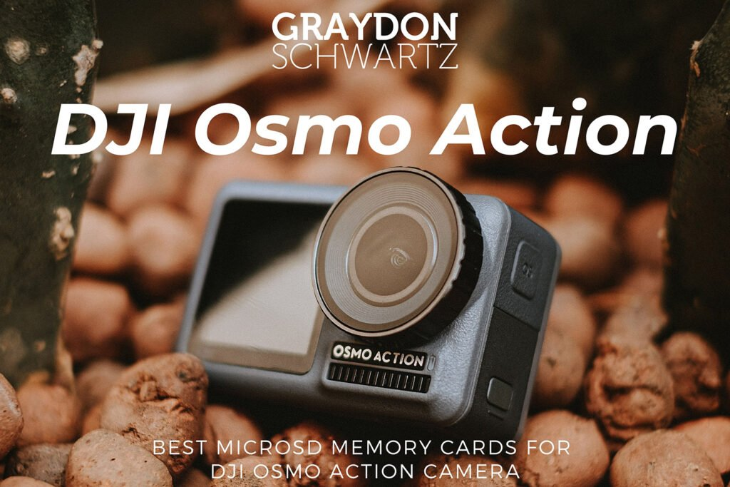 Best MicroSD Memory Cards for DJI Osmo Action Camera