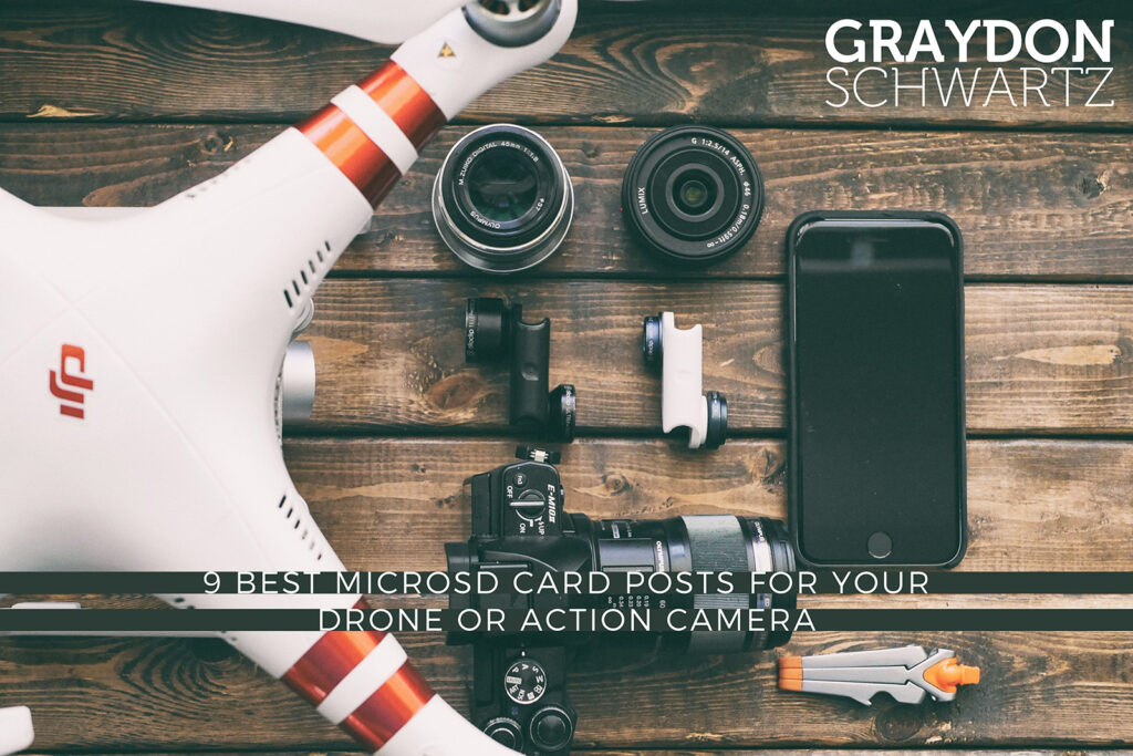 9 Best MicroSD Card Posts for Your Drone or Action Camera