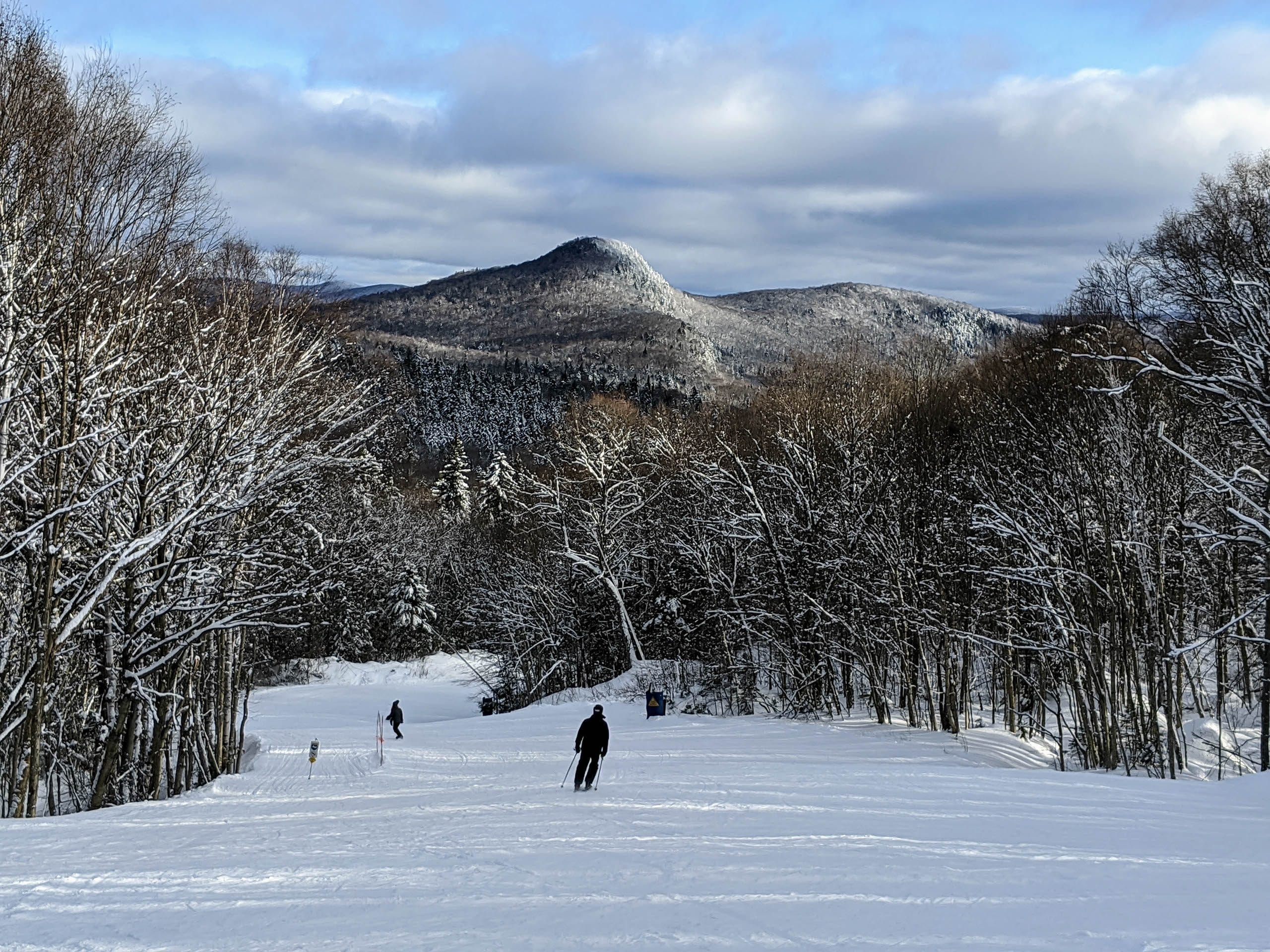 Skiers at Mont-Tremblant