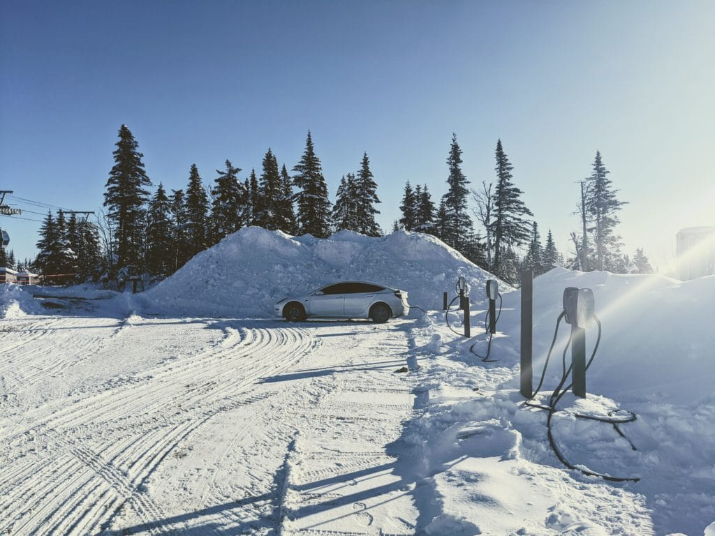 Destination Charger at Le Massif