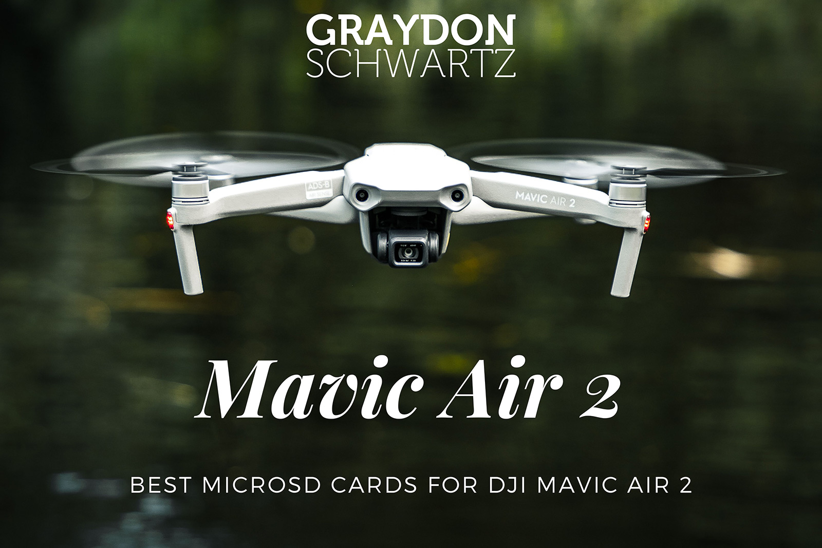 Best MicroSD Cards for DJI Mavic Air 2