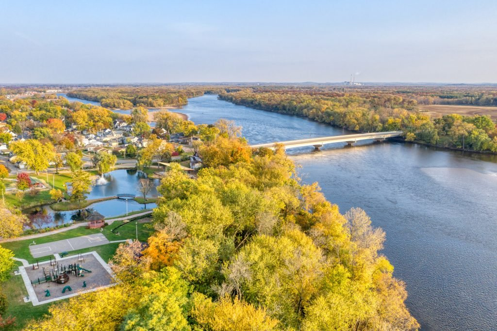 Fall Colors in Portage, WI