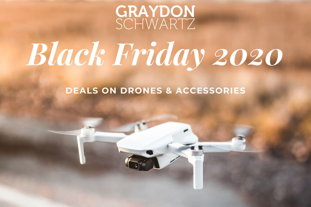 Black Friday 2020 Deals on Drones & Accessories