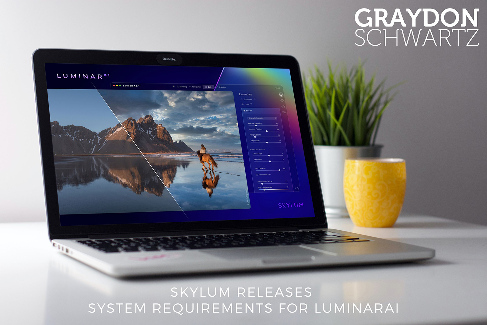 Skylum Releases System Requirements for LuminarAI