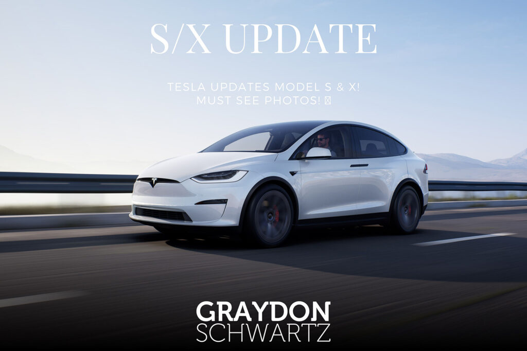Tesla Updates Model S & X! Must See Photos!