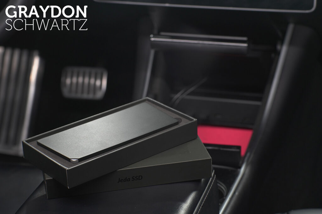Jeda SSD for Tesla Model 3 and Model Y Preview