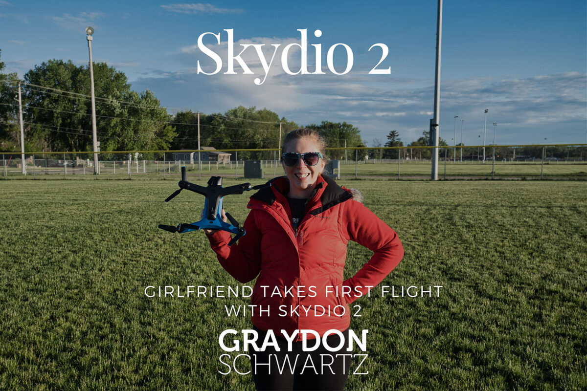 Girlfriend Takes First Flight with Skydio 2