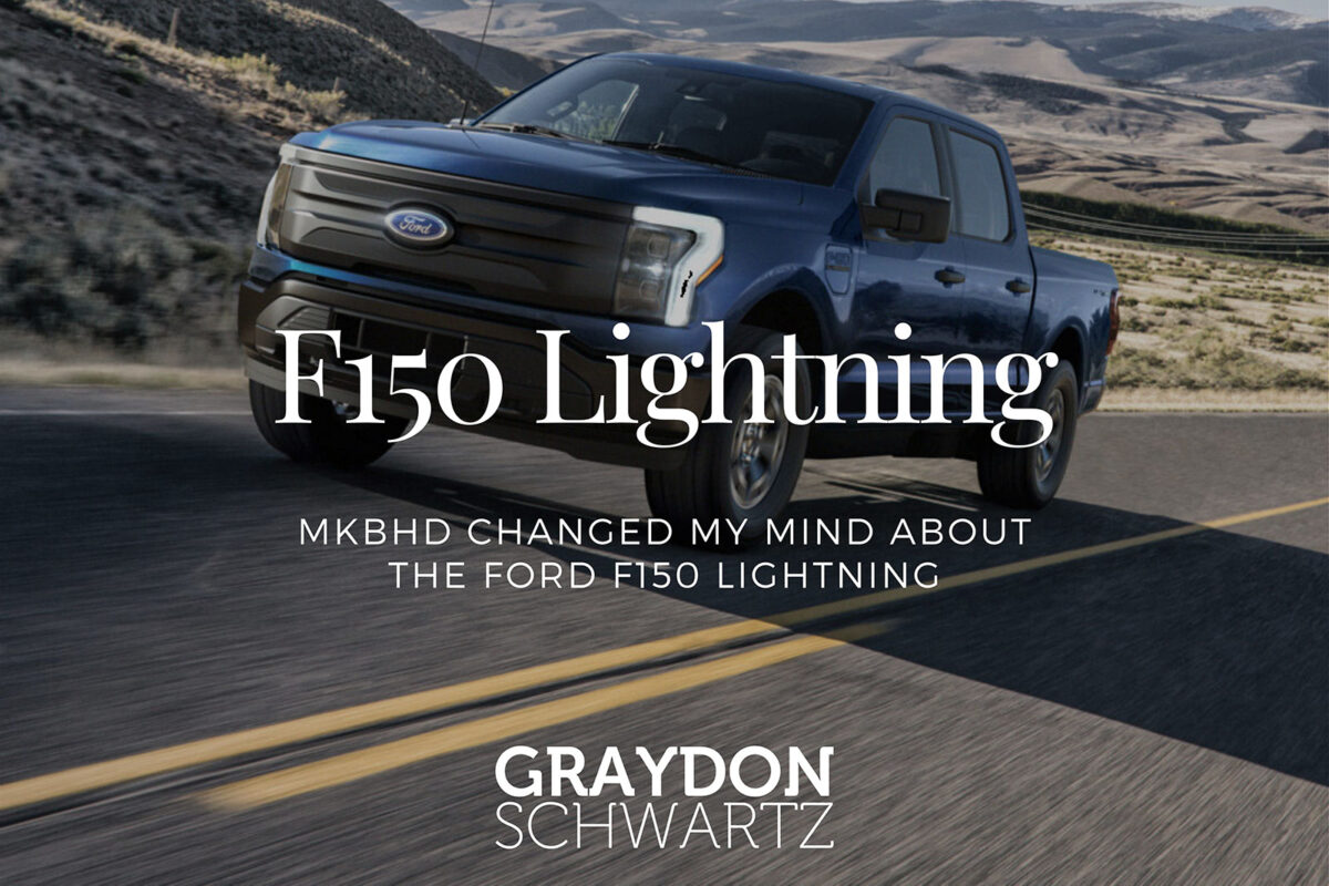 MKBHD Changed My Mind About the Ford F150 Lightning