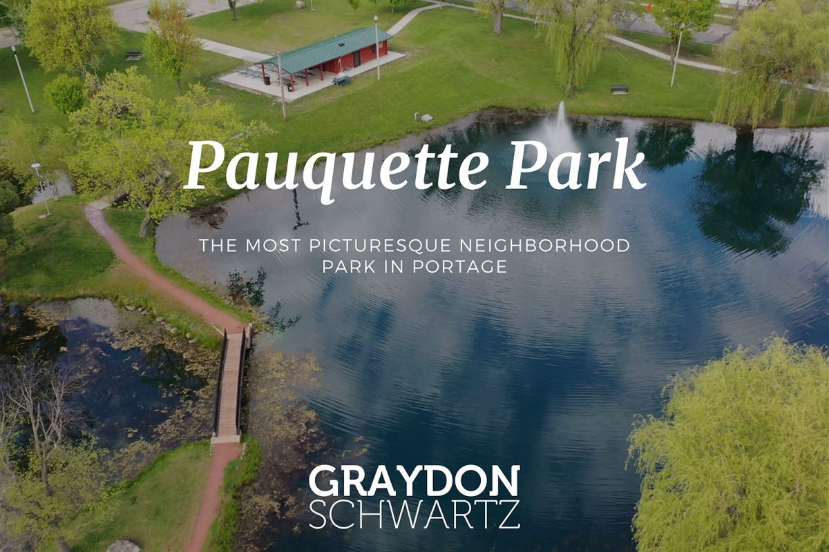 The Most Picturesque Neighborhood Park in Portage