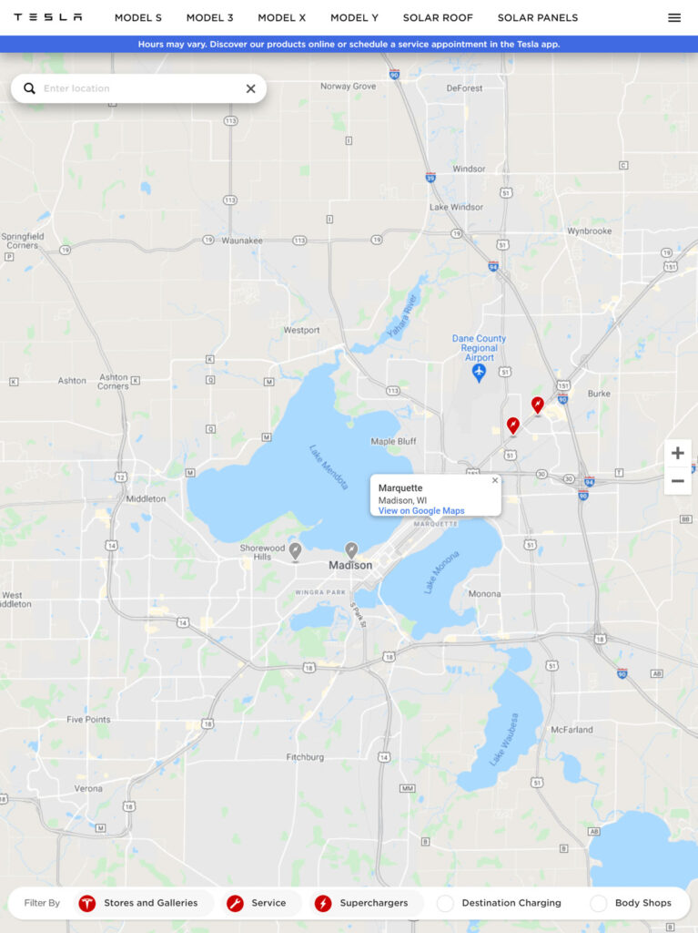 tesla superchargers are expanding in wisconsin this year official map | graydonschwartz.com