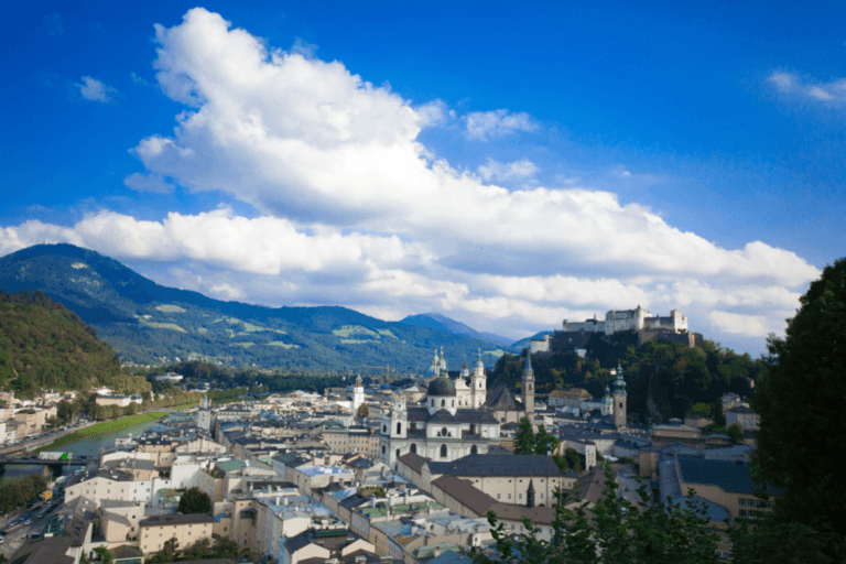 Travel to Salzburg, one of the most beautiful cities in Europe