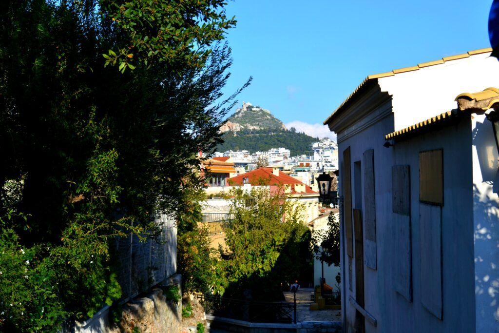 Athens, a walk at Anafiotika