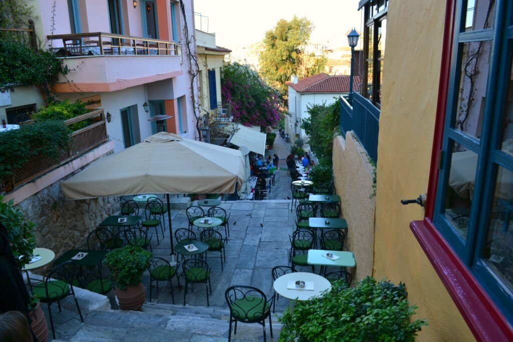 Athens, a walk at Plaka, Greece
