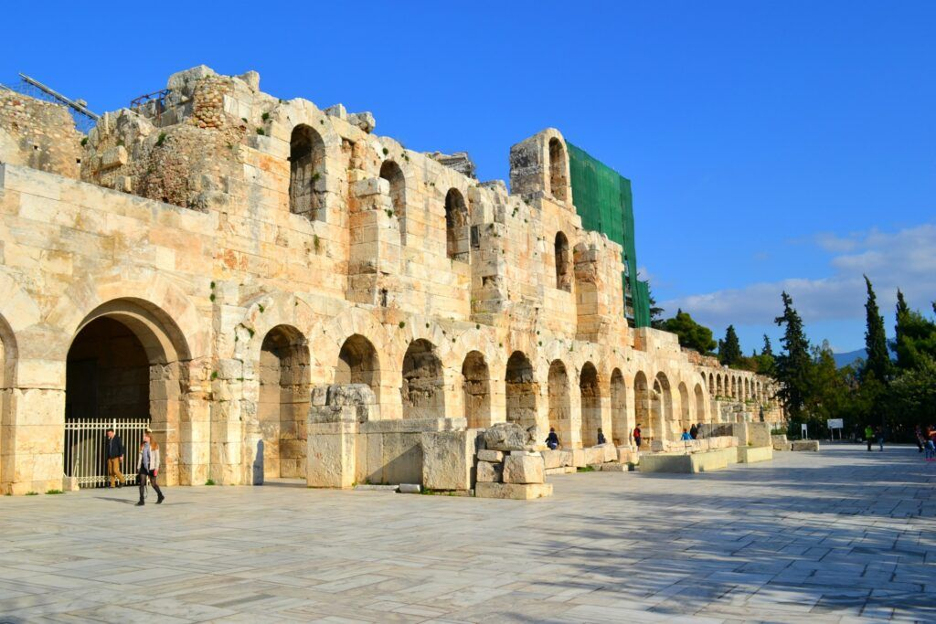 Herodeon, Athens, Greece- At the Acropolis of Athens
