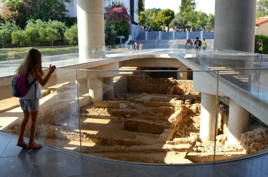 Acropolis Museum -ancient city, Athens, Greece