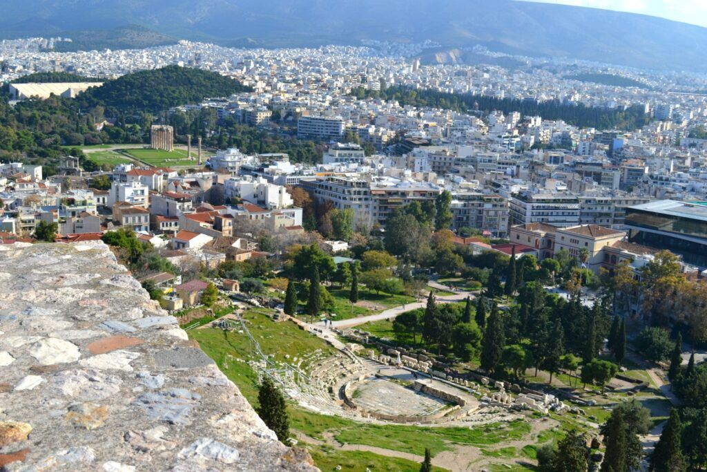The Theater of Dionysus, Acropolis -At the Acropolis of Athens