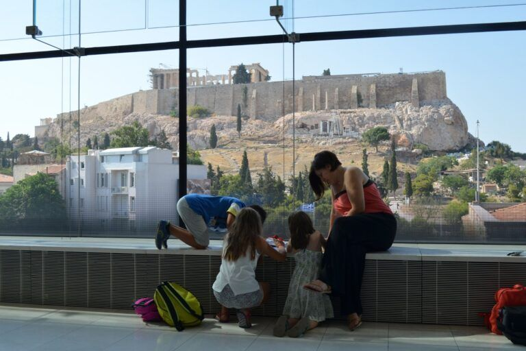 Explore the Acropolis Museum with kids