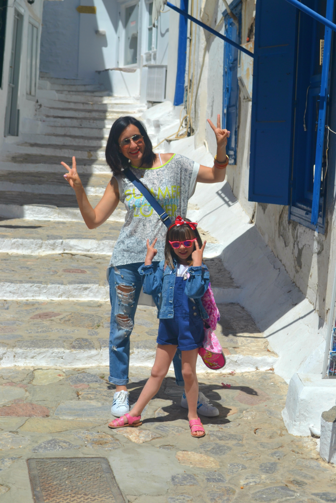 Family holidays in Hydra with kids