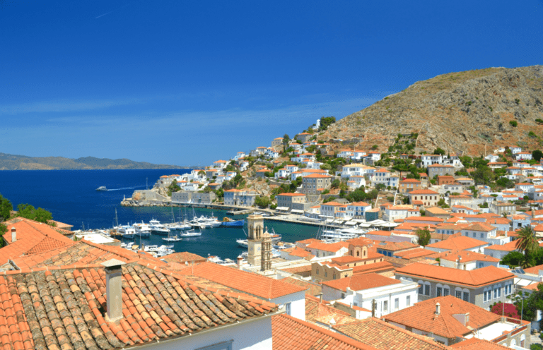 Family Holidays in Hydra, Greece, with kids