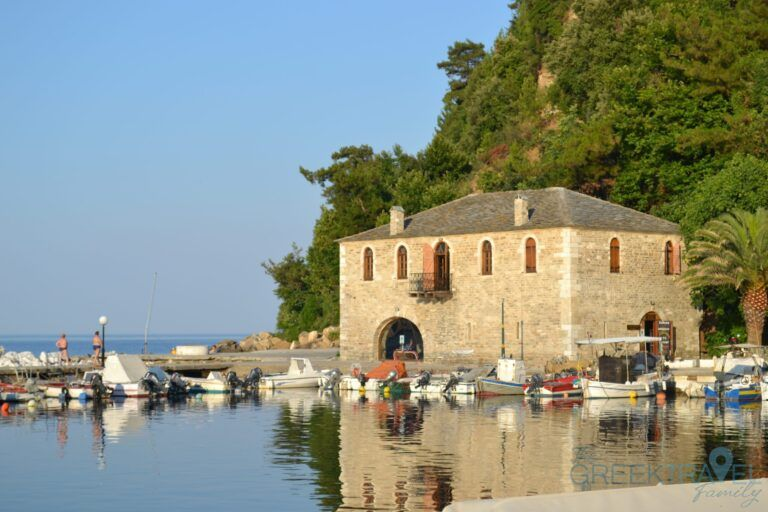 Vacations in Thassos, a green greek island