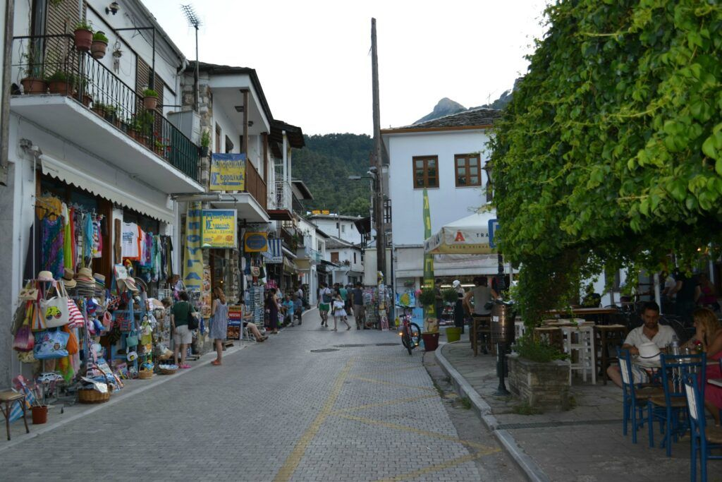 Vacations in Thasos, a green greek island, Panagia, Greece