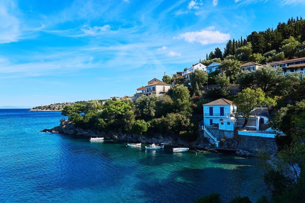 Ionian islands in Greece-Ithanca