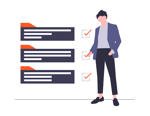 checklist illustration