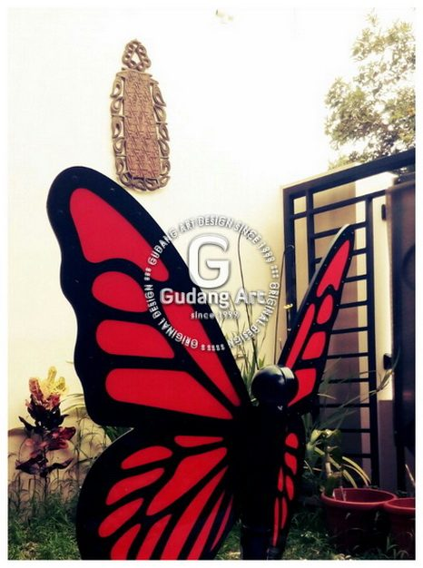 Butterfly Sculpture Home Design Ideas - Patung Kupu-kupu