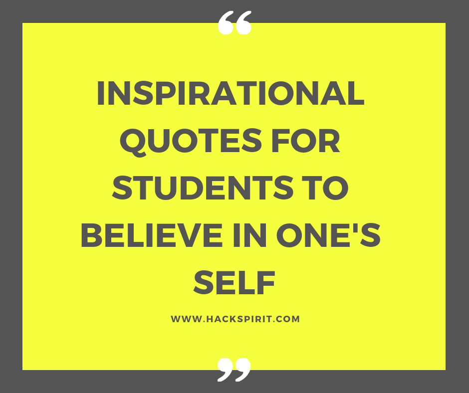 Inspiring Quotes For Students 1