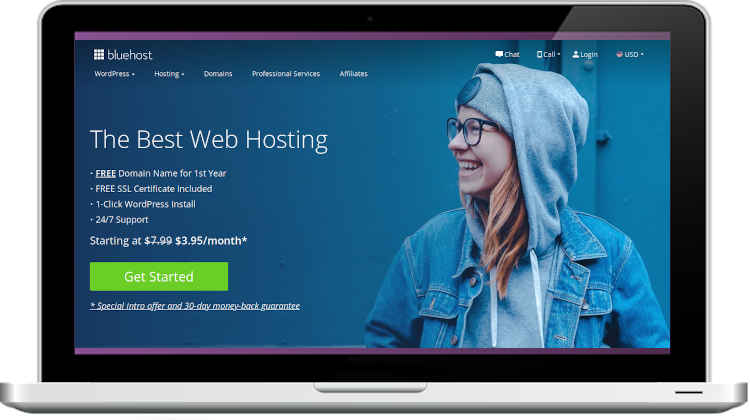 Bluehost Hosting Services and Reviews