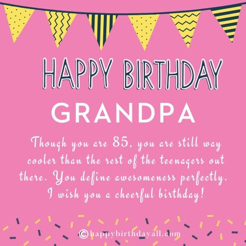 Happy Birthday Wishes For Grandfather Funny Birthday Quotes For Grandpa